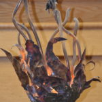 The Ner Tamid and other metal works of art at Temple Emanuel by Gary Rappaport