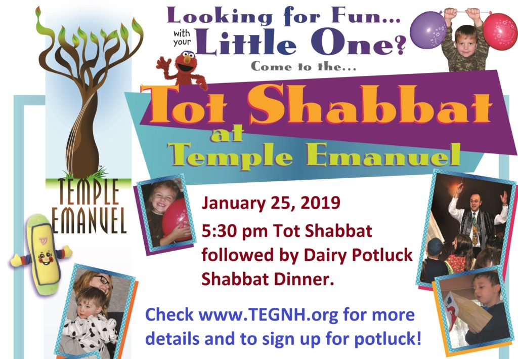 tot shabbat january 25 at 5 30 pm temple emanuel of greater new haven